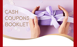 Cash Coupons Booklet Banner