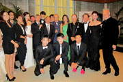 EXHILARATED RECEPTION IN VENICE HIGHLIGHTING HONG KONG